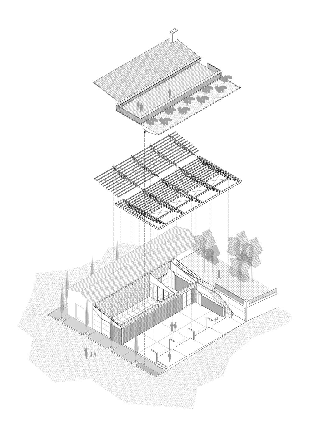 SALA FERUSIC Architects – ingravitis – Dibujo01
